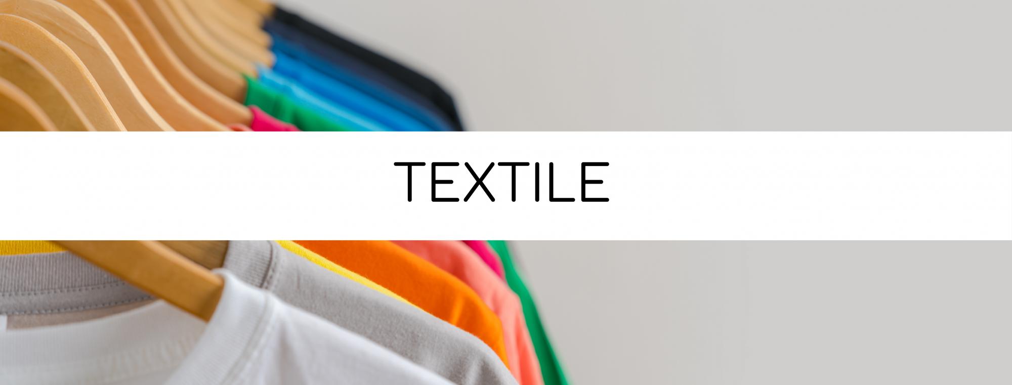 Textile, personnalisables, impression, communication